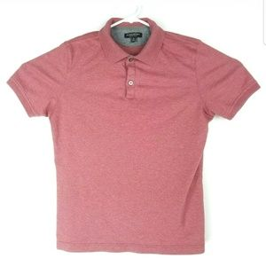 Banana Republic Mens Med Polo Shirt Luxury Touch